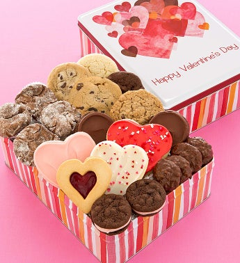 Valentines Day Gift Tin - Treats