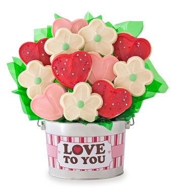 Love To You Cookie Flower Pot