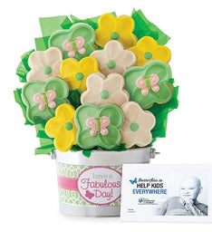 Fabulous Day Cookie Flower Pot