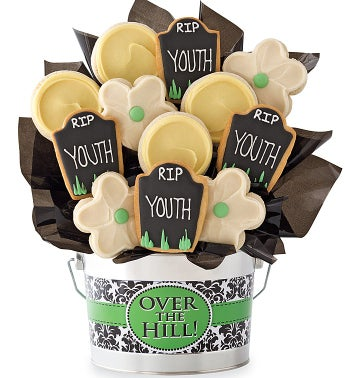 Over The Hill Cookie Flower Pot