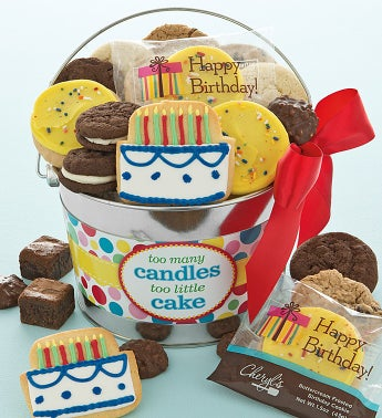 Too Many Candles Gift Pail
