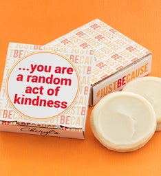 Just Because Cookie & Gift Card - Random Act of Kindness
