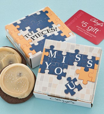 Miss You to Pieces Cookie & Gift Card