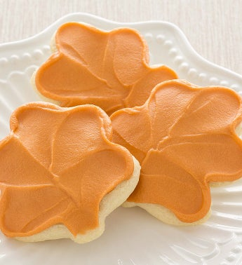 Flavor of the Month Maple Leaf Cut-out Cookies