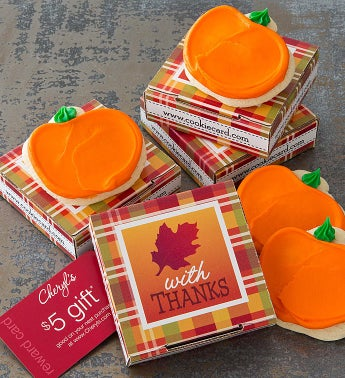 Pumpkin Harvest Delilah Cookie & Gift Card