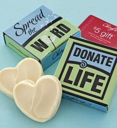 Donate Life Cookie & Gift Card Case