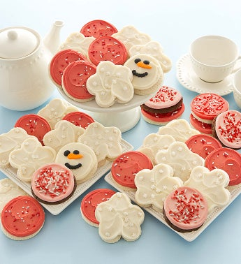 Buttercream Winter Cookie Assortment