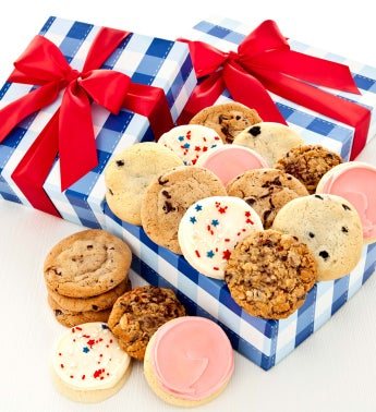 Summer Cookie Boxes - Assorted Cookies