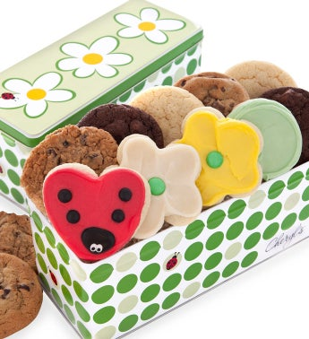 Spring Meadow Gift Tin - 12 Classic Cookies