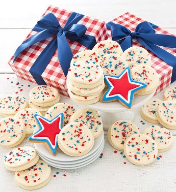 Summer Cookie Gift Box Patriotic Cookies