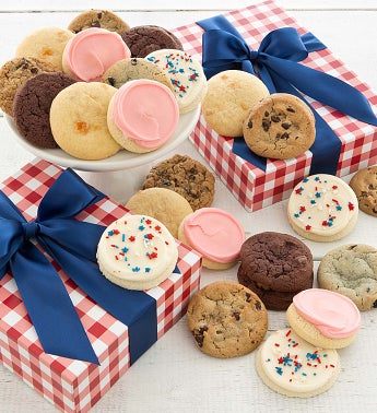 Summer Cookie Gift Box Assorted Cookies