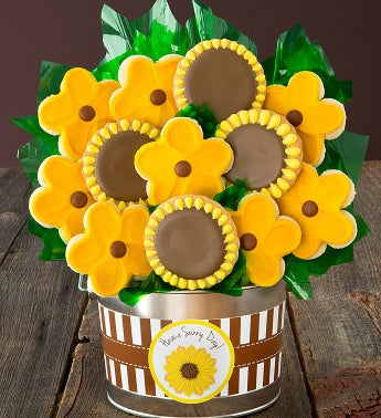 Sunflower Flower Pot