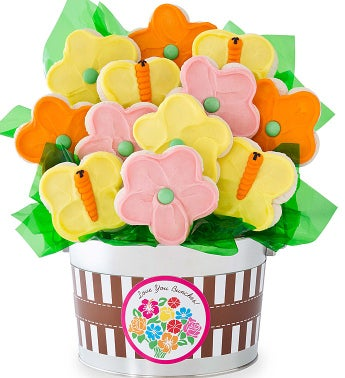 Spring Bouquet Flower Pot