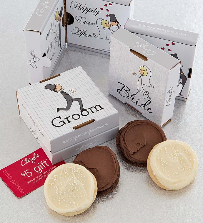 Wedding Cookie Gift Card 2 Pack