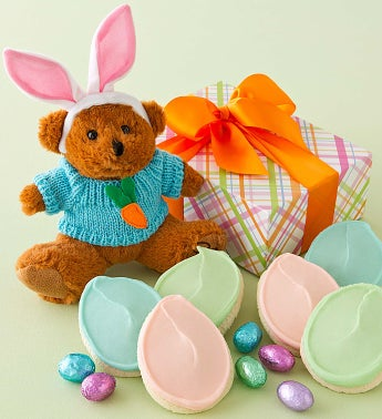 Plush Easter Bunny Bear Gift