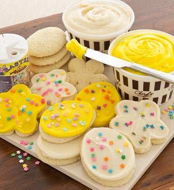 Easter Cutout Cookie Decorating Kit
