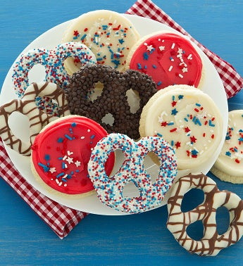 Summer Pretzels and Cut-out Cookies