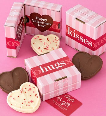 Hugs and Kisses Cookie Card 2 Pack