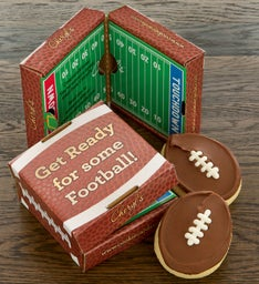 Football 2 Pack Cookie & Gift Card