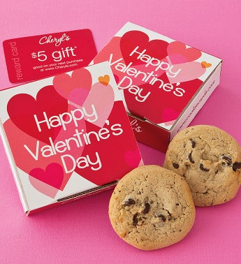 Sugar Free Valentine Cookie Card