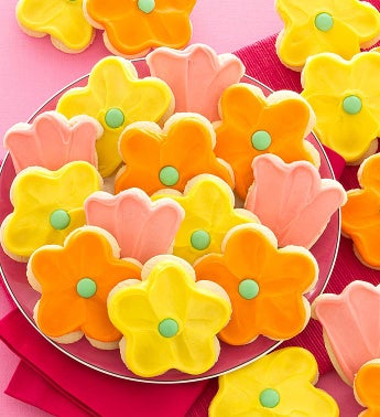 Flavor of the Month - Frosted Flower Cutout Cookies