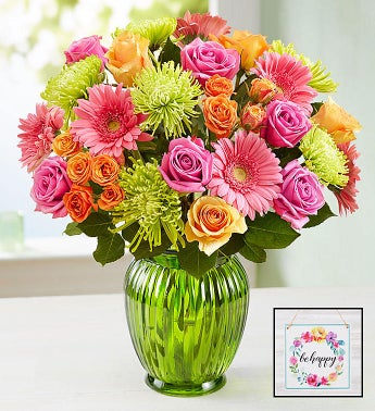Vibrant Blooms Bouquet