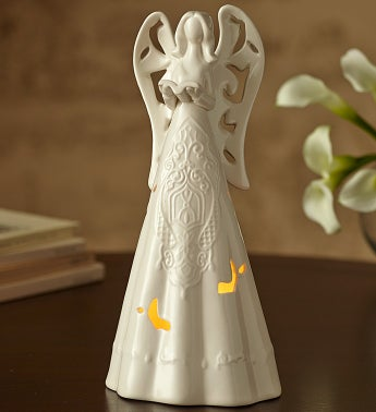 Peaceful Memory Lighted Angel