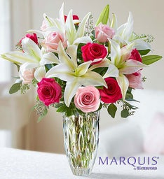 Marquis by Waterford® Rose and Lily Bouquet