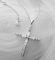 CRISLU Cross Necklace