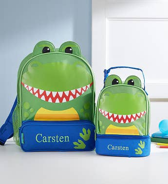 Personalized Dinosaur Backpack & Lunchbox
