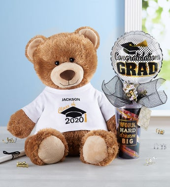 Personalized Tommy Teddy Graduate