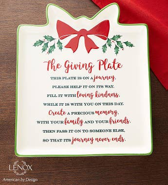 Lenox Holiday Giving Plate