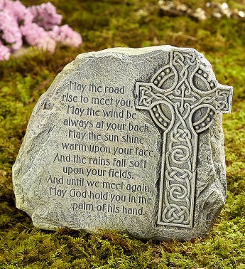 Irish Blessing Garden Stone