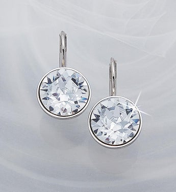 Swarovski Mini Bella Earrings- Clear