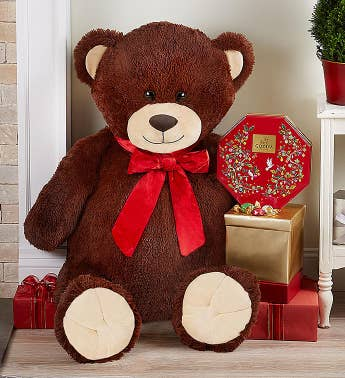 Lotsa Love Handsome Henry Giant Holiday Bear