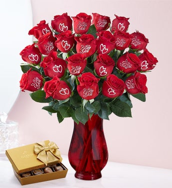 Conversation Roses I Love You