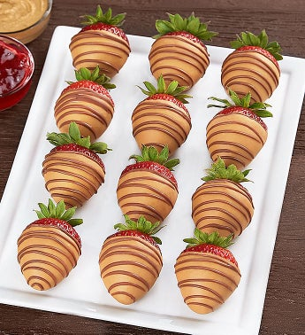 Peanut Butter  Jelly Strawberries