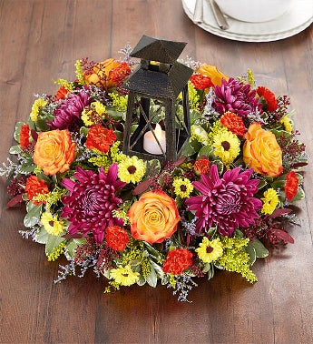Brilliant Autumn Centerpiece