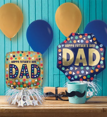 Fathers Day Balloon Party Kit
