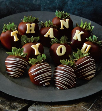 Thank You Chocolate-Covered Strawberries