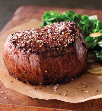 Stock Yards174 Filet of Top Sirloin 8211 Two 6-Ounce USDA Choice