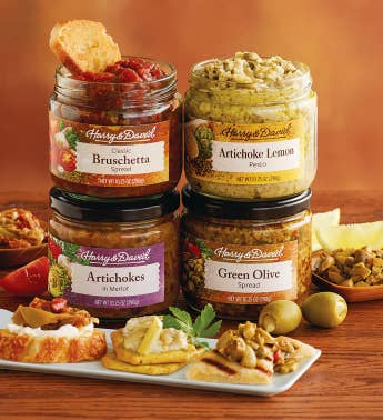 Pick Four Appetizer Spreads