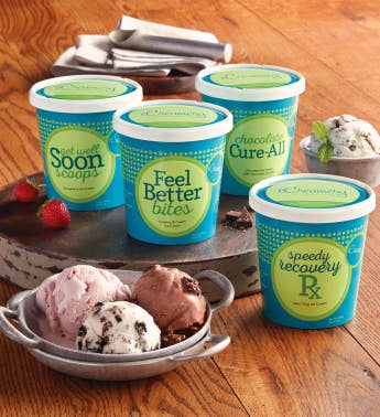 Get Well Ice Cream Assortment
