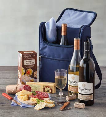 Wine and Cheese Picnic Gift Set