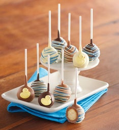 It's-a-Boy Cake Pops