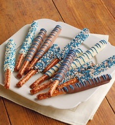 Blue Celebration Pretzels