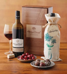 Sympathy Red Wine Gift Box