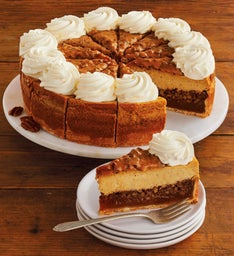 The Cheesecake Factory® Pumpkin Pecan Cheesecake - 10""