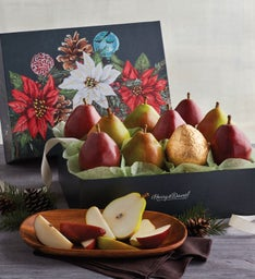 Red and Green Pears
