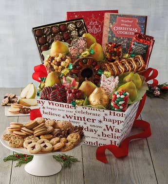 Supreme Christmas Gift Basket